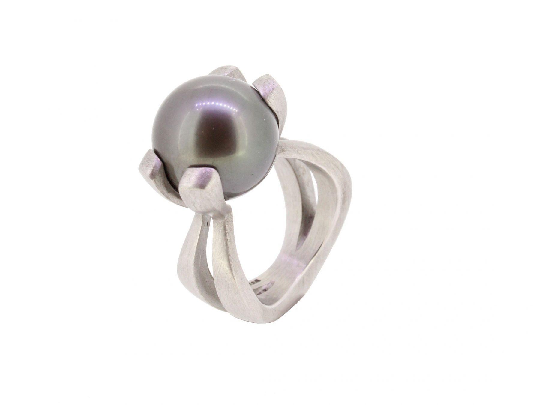 Ring Einperler 925 Silber - Corinna Heller - 410hell04-1