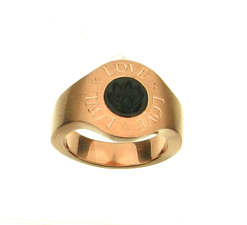 Ring Banderole 18ct Roségold - Pe Giers - 412gier08-1