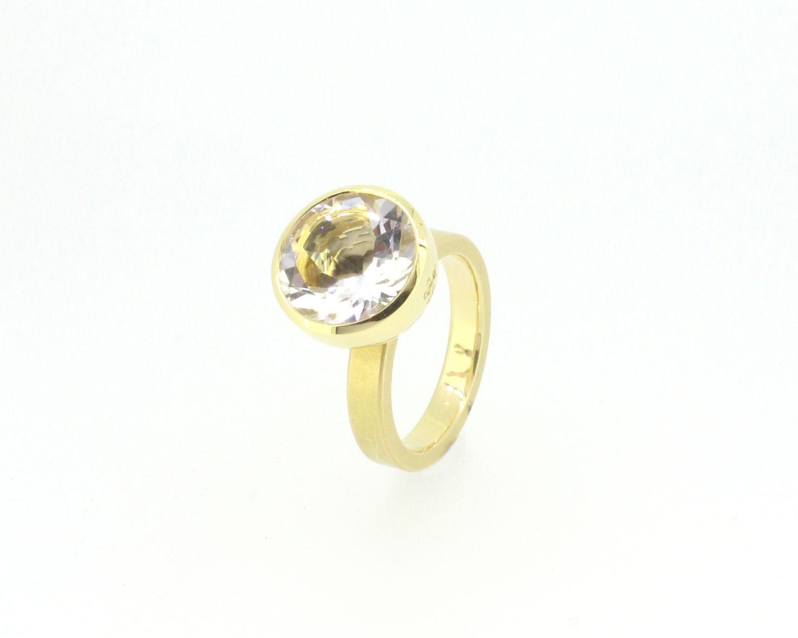 Ring Blub Bergkristall - Georg Spreng - 413spre08-2