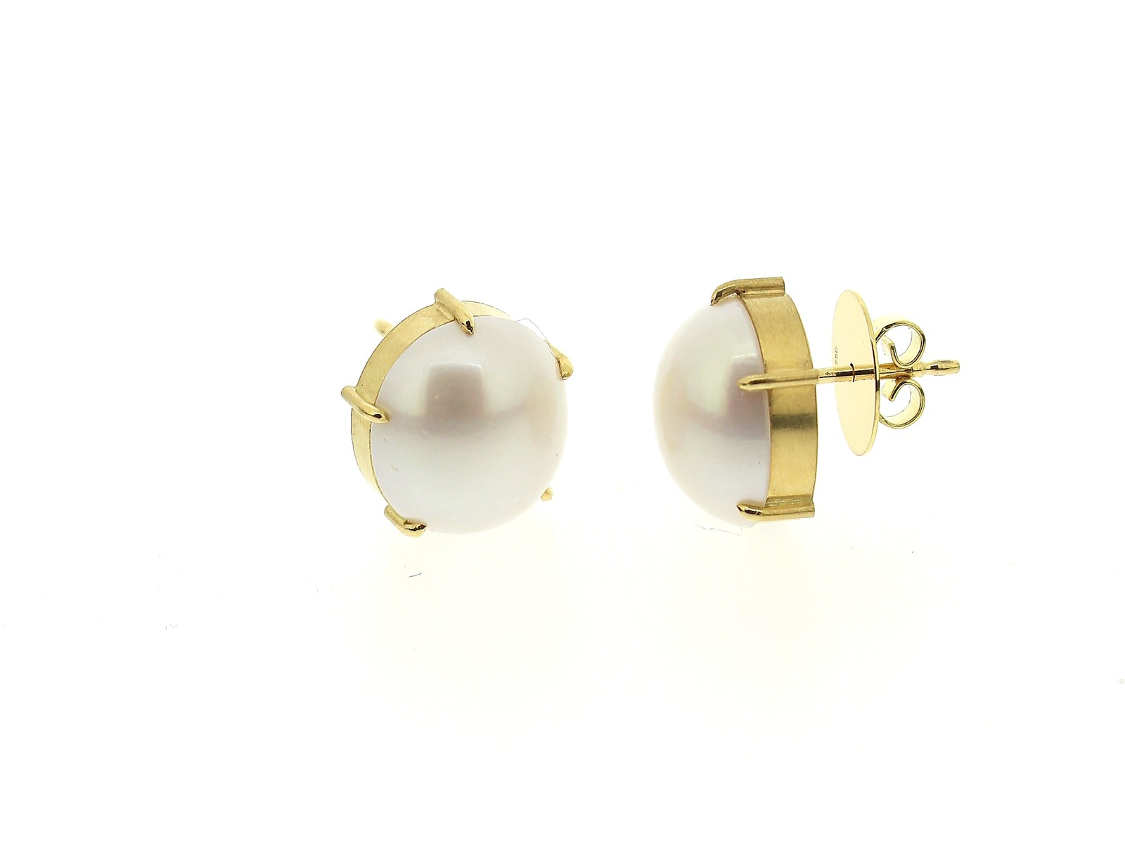 Ohrstecker Perle 18ct Gold - Köppel, Christine - 417koep09-4