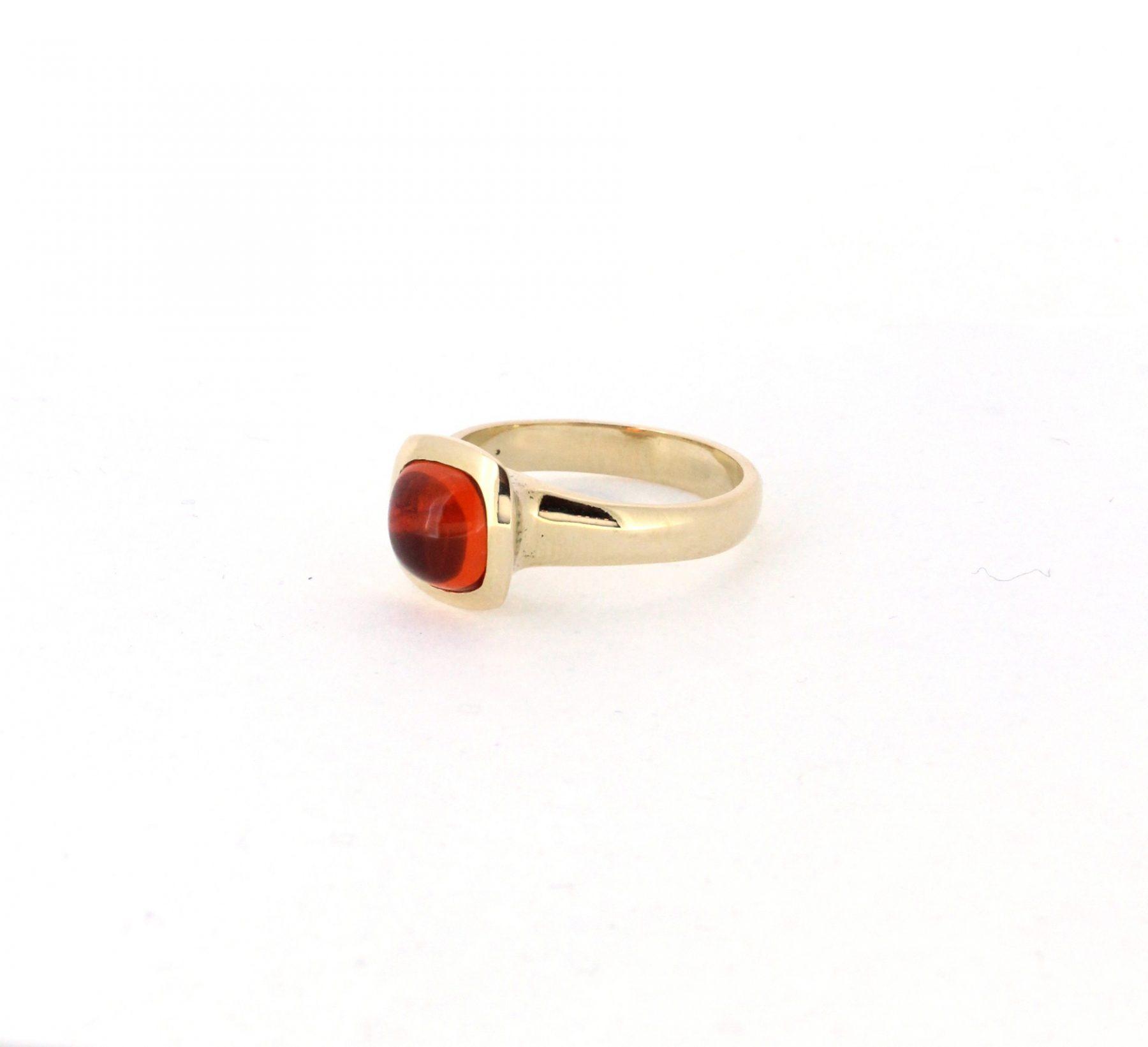 Ring Feueropal 14ct Gelbgold - Individuelle Marken - 419brun05-11