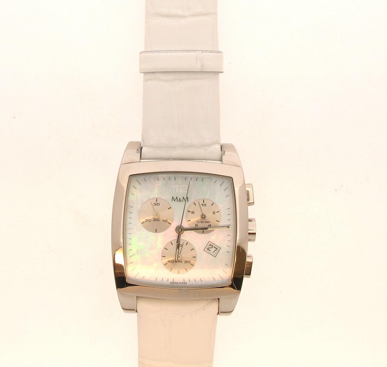 Plum Design Chronograph Quarz - M+M - 5469.42blau