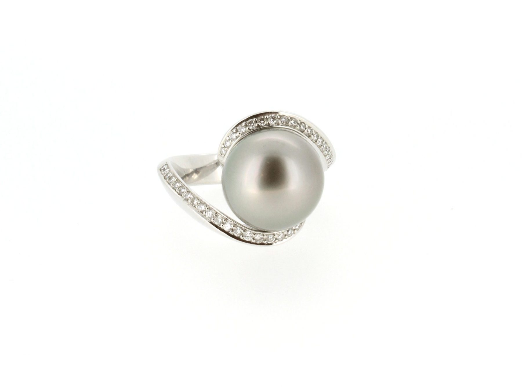 Ring Tahitiperle 18ct Weißgold - Schoeffel/Perle - 754707