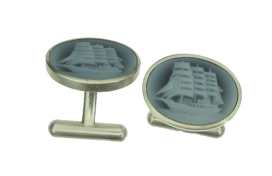 Manschettenknöpfe 925 Silber - Individuelle Marken - 8007-724