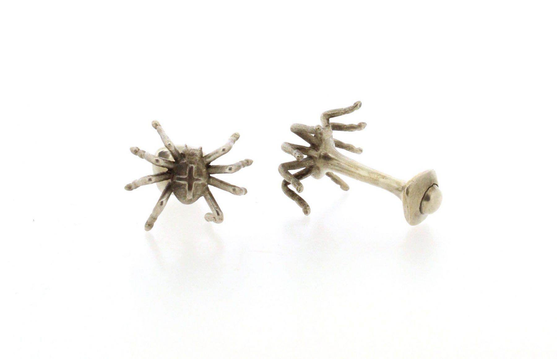 Manschettenknöpfe Spinnen 925 Silber - Geträumte Taten - 806schr04-2