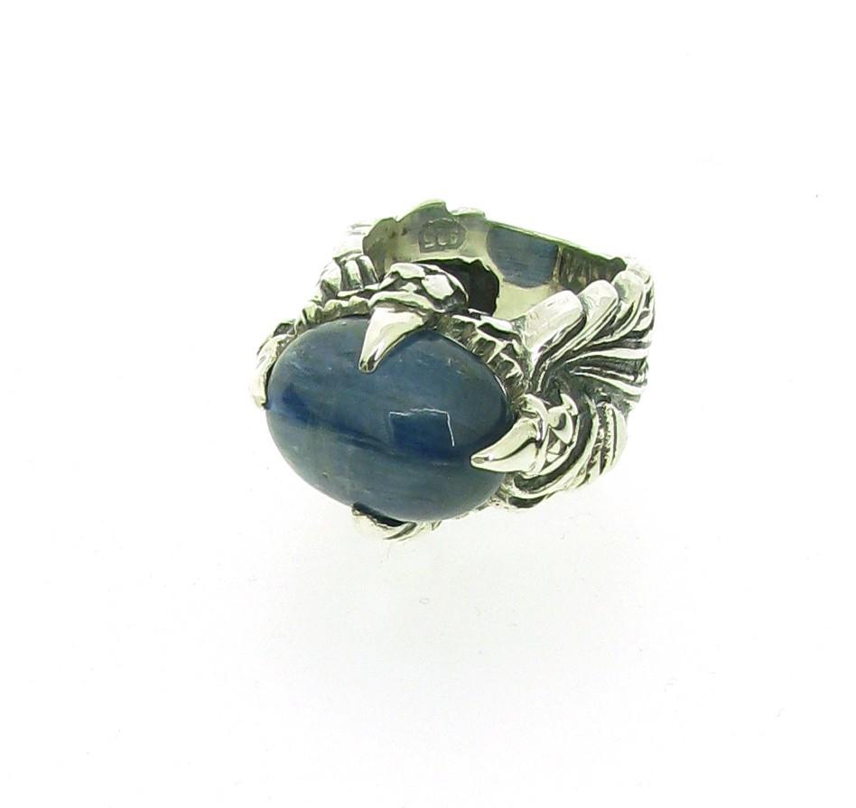 Ring Magic Plant 925 Silber - Elf Craft - 846.844kyanit