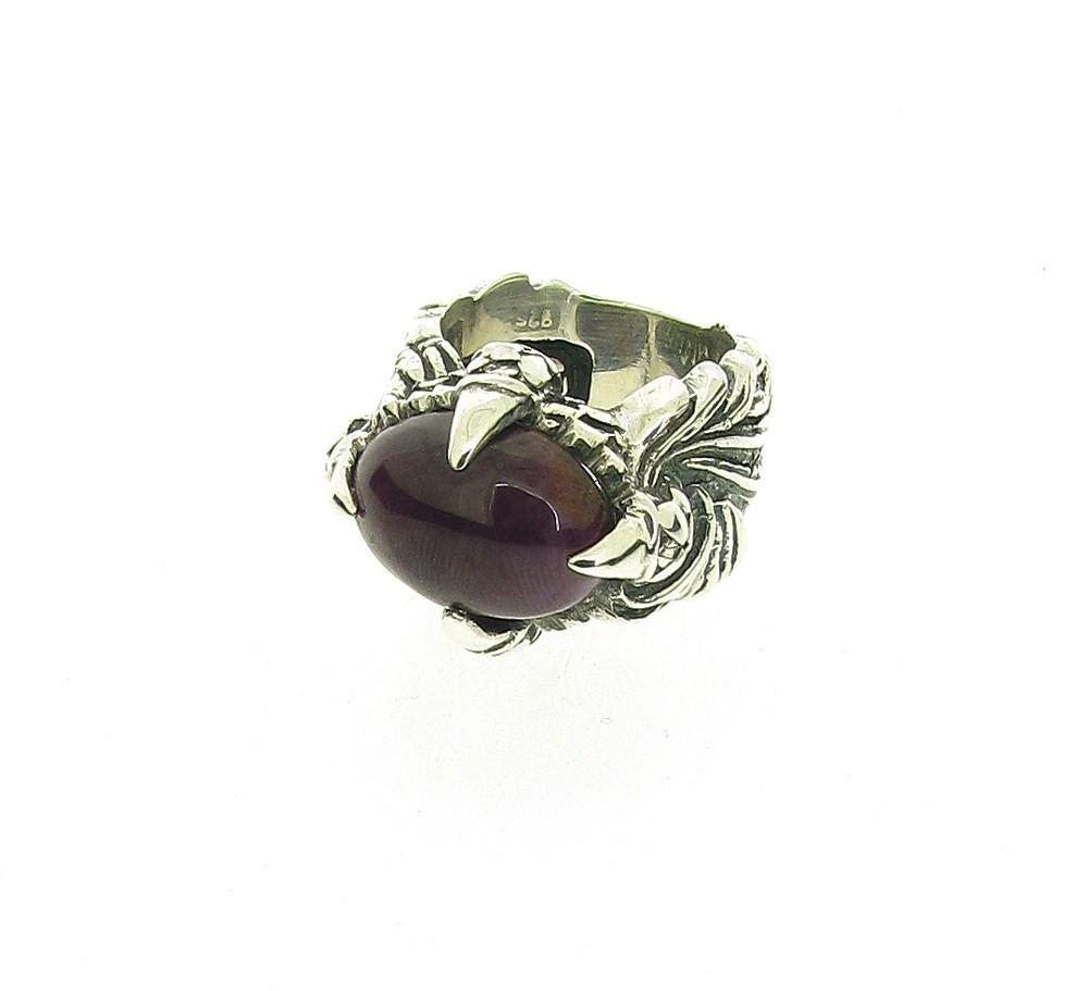 Ring Magic Plant 925 Silber - Elf Craft - 846.844rubin