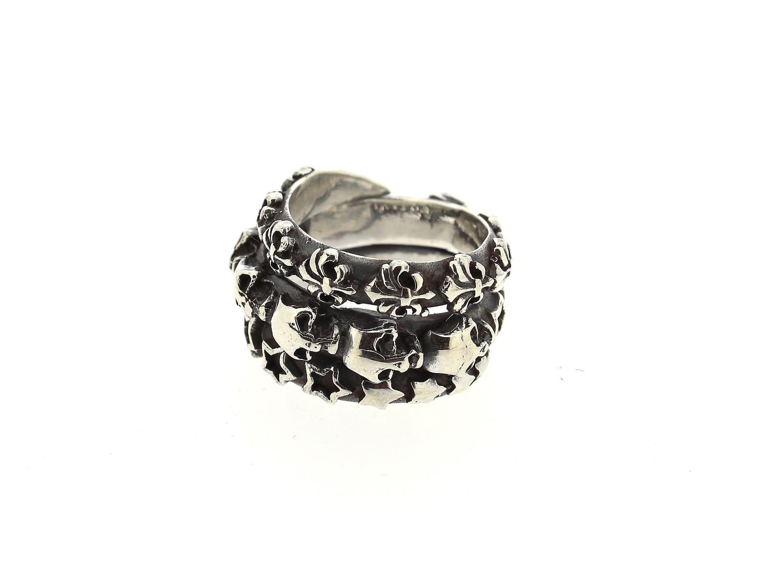 Ring Spiral Skulls 925 Silber - Elf Craft - 896.399.73