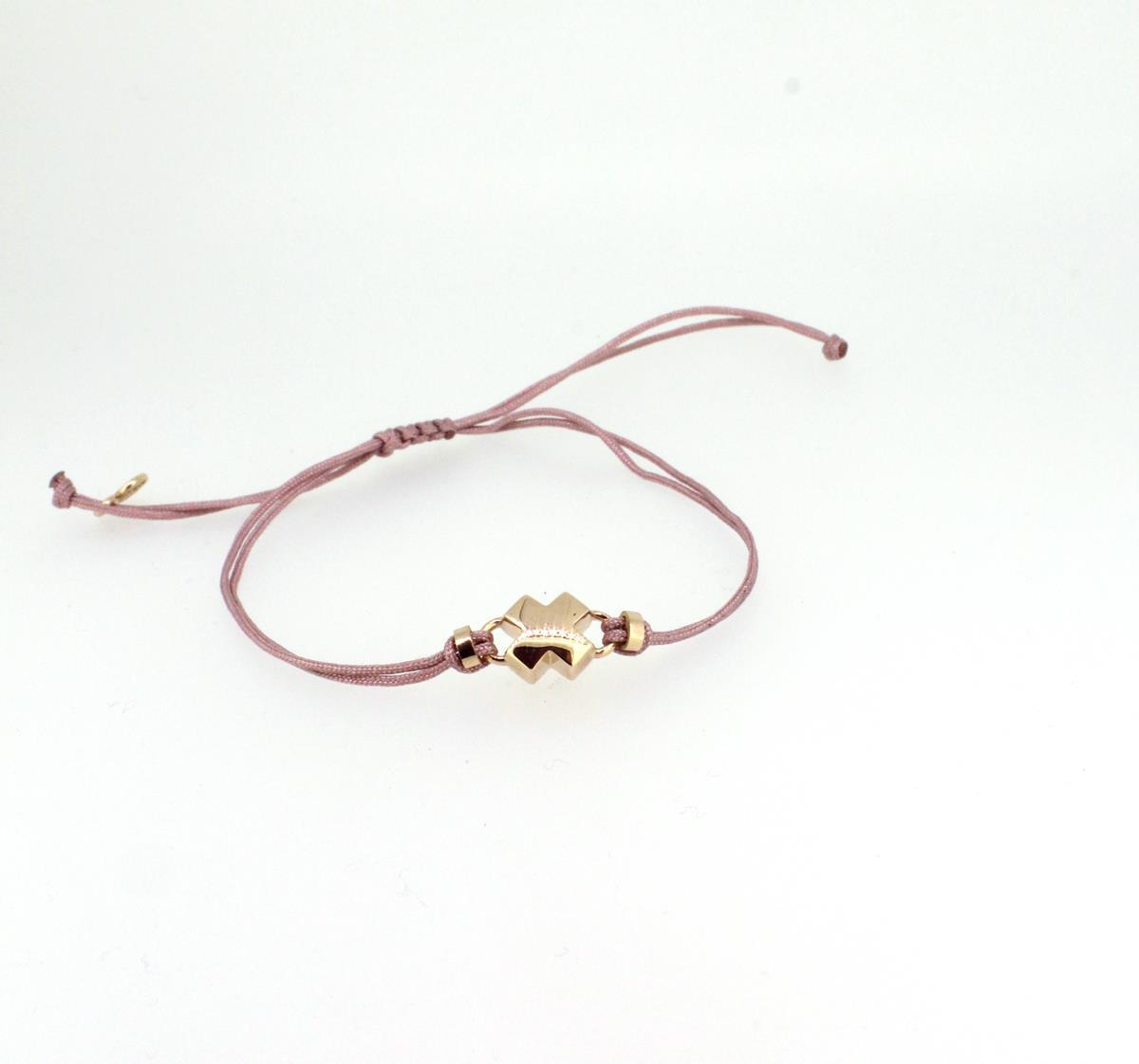 Armband Küsschen18ct Roségold - Bron - 8AR3981