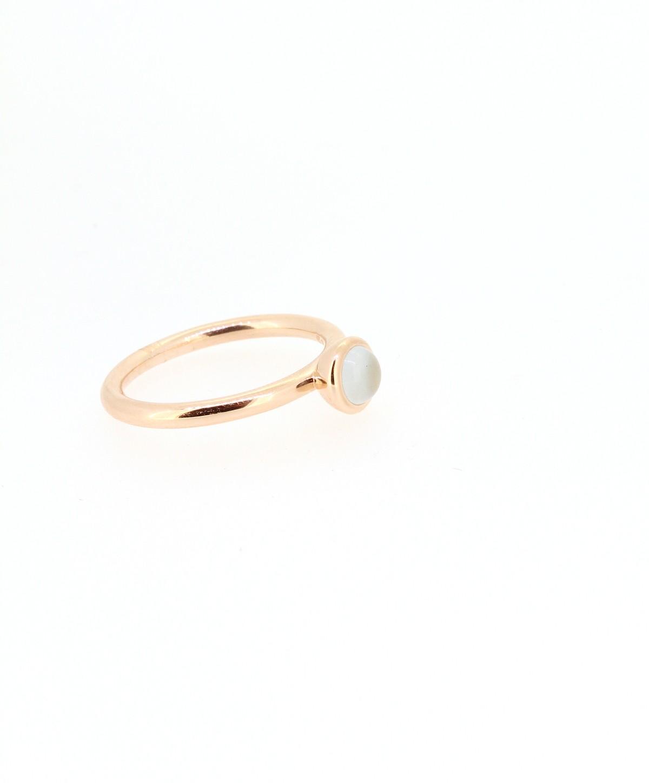 Ring Sushi Aquamarin Roségold - Bron - 8RR4851AQC