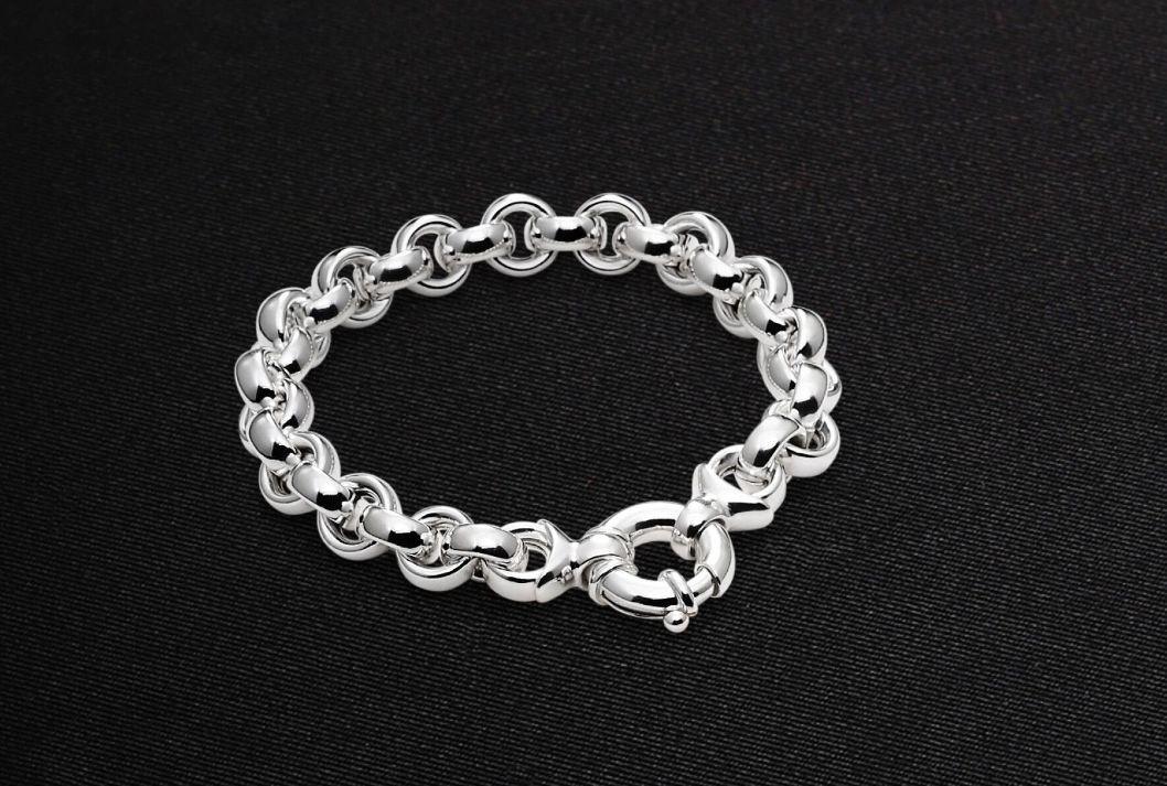 Armband halbmassiv 925 Silber - Emil Brenk - 948.3690.20