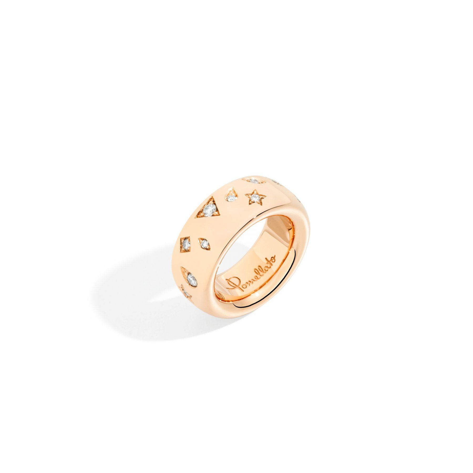 Ring Iconica Diamanten 18ct - Pomellato - A.910650GBO7