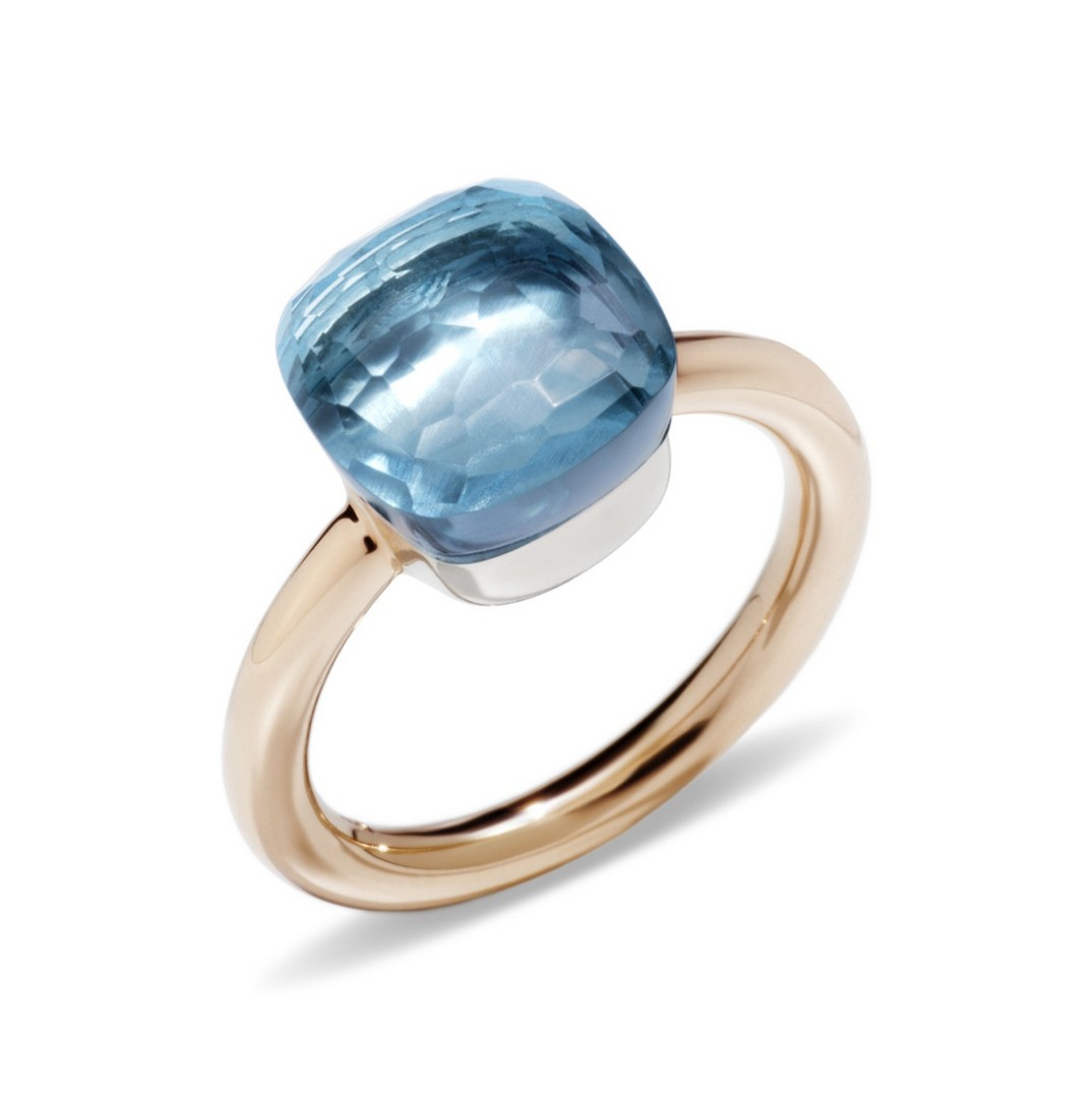Ring Nudo Classic Topas azzuro - Pomellato - A.A110/06/0Y