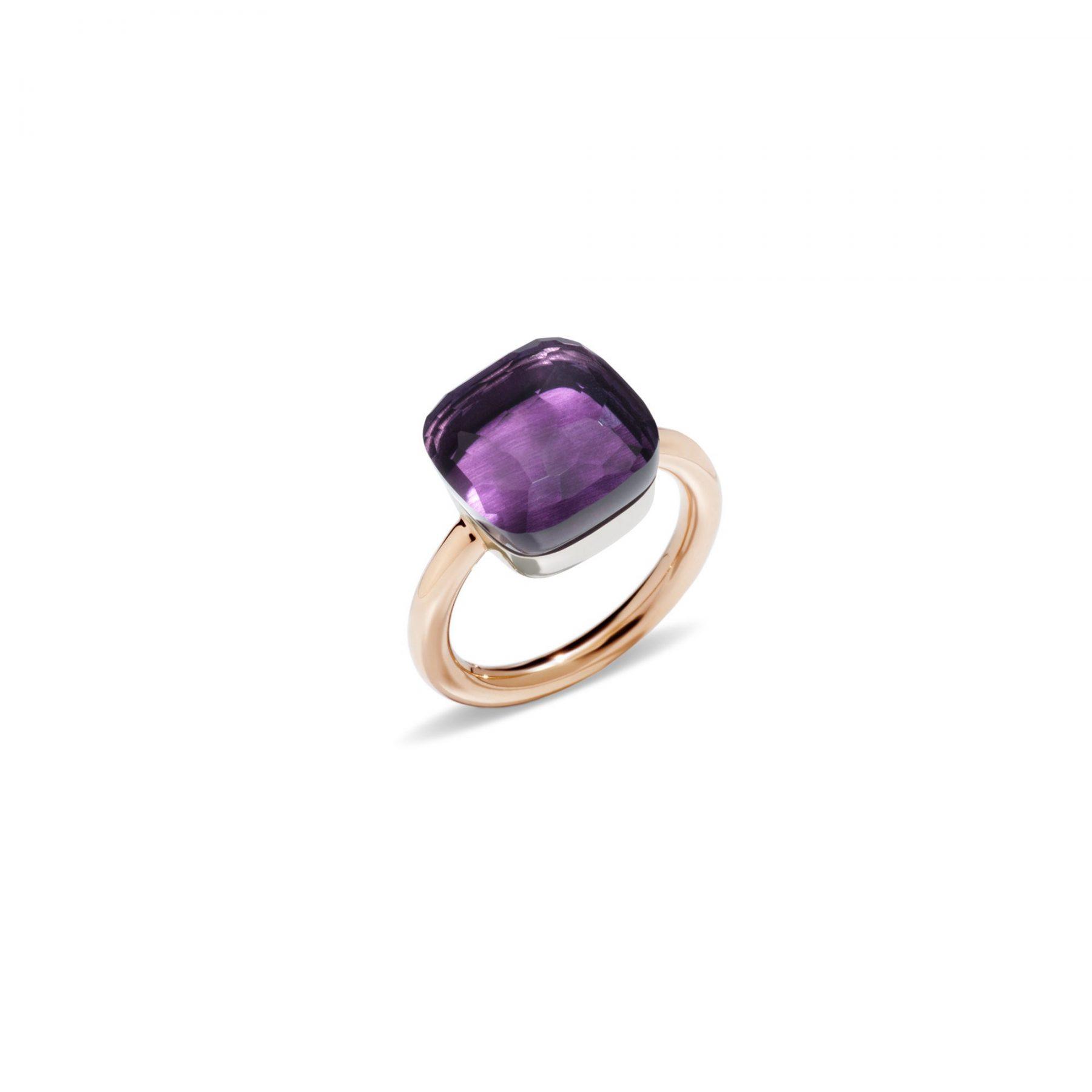 Ring Nudo Maxi  Amethyst - Pomellato - A.B201/06/OI