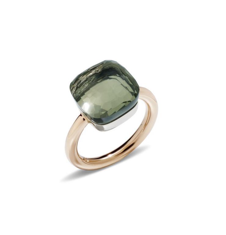 Ring Nudo Maxi Prasiolith - Pomellato - A.B201/06/PA