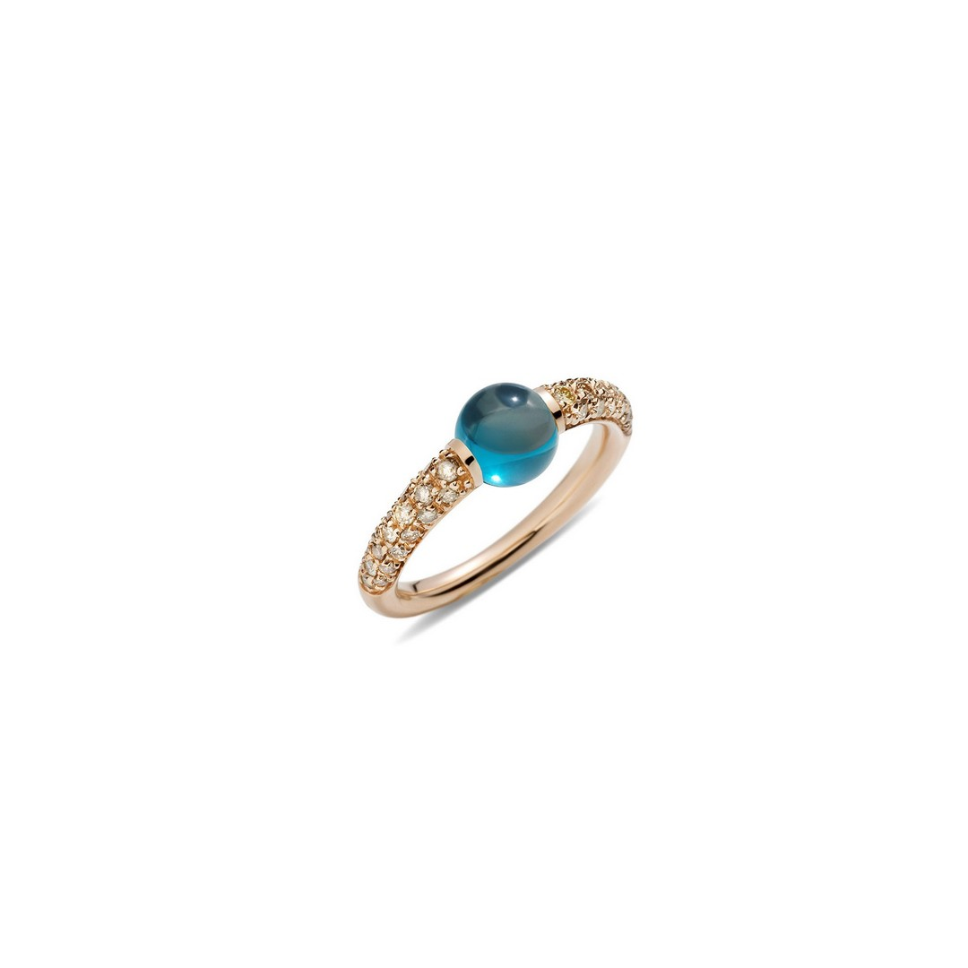Ring M´ama non M´ama Topas - Pomellato - A.B213TBRO7OY