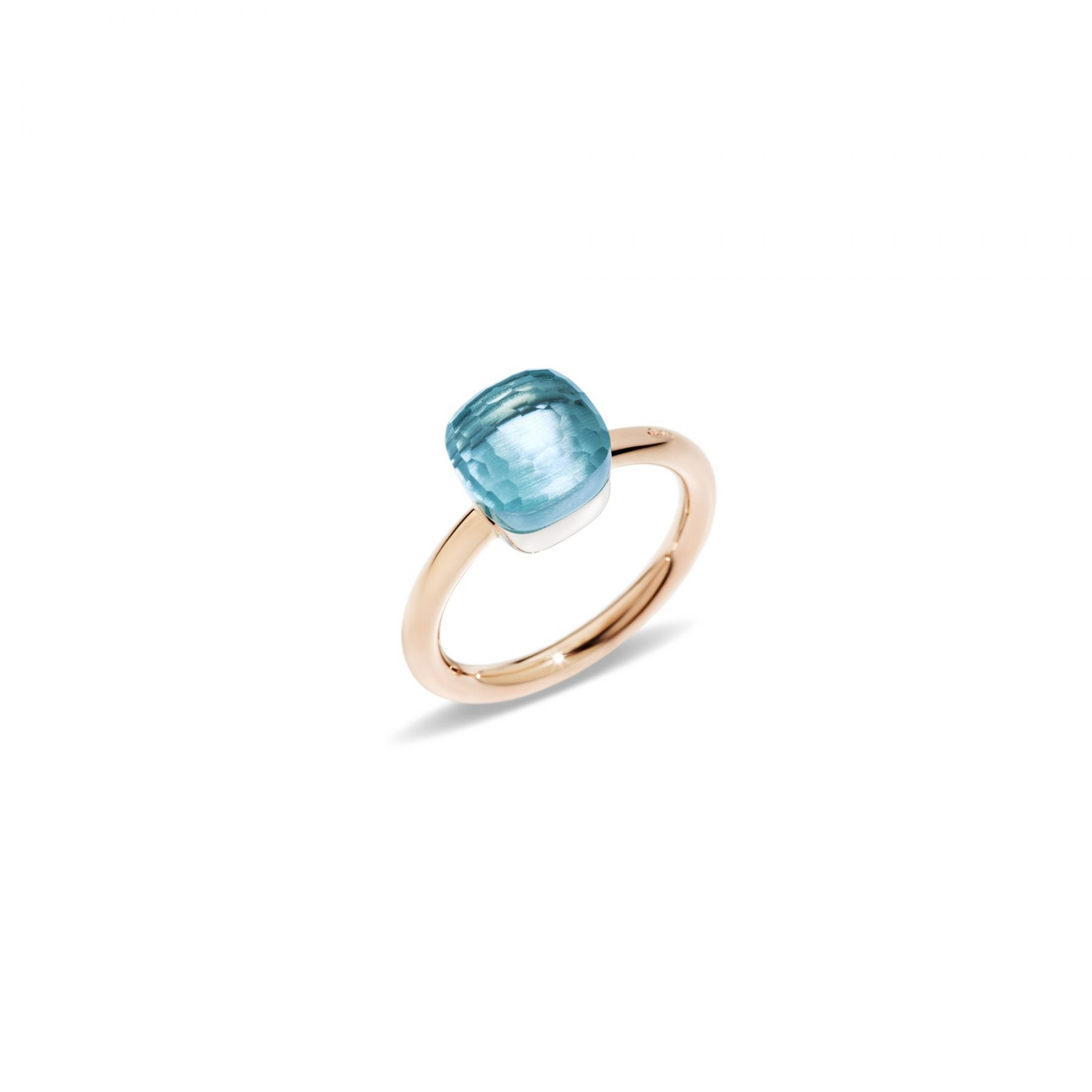 Ring Nudo Petit blauer Topas - Pomellato - A.B403/O6/OY