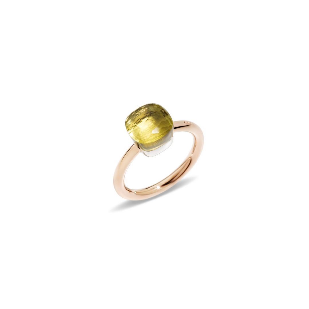 Ring Nudo Petit Lemonquarz - Pomellato - A.B403/O6/QL
