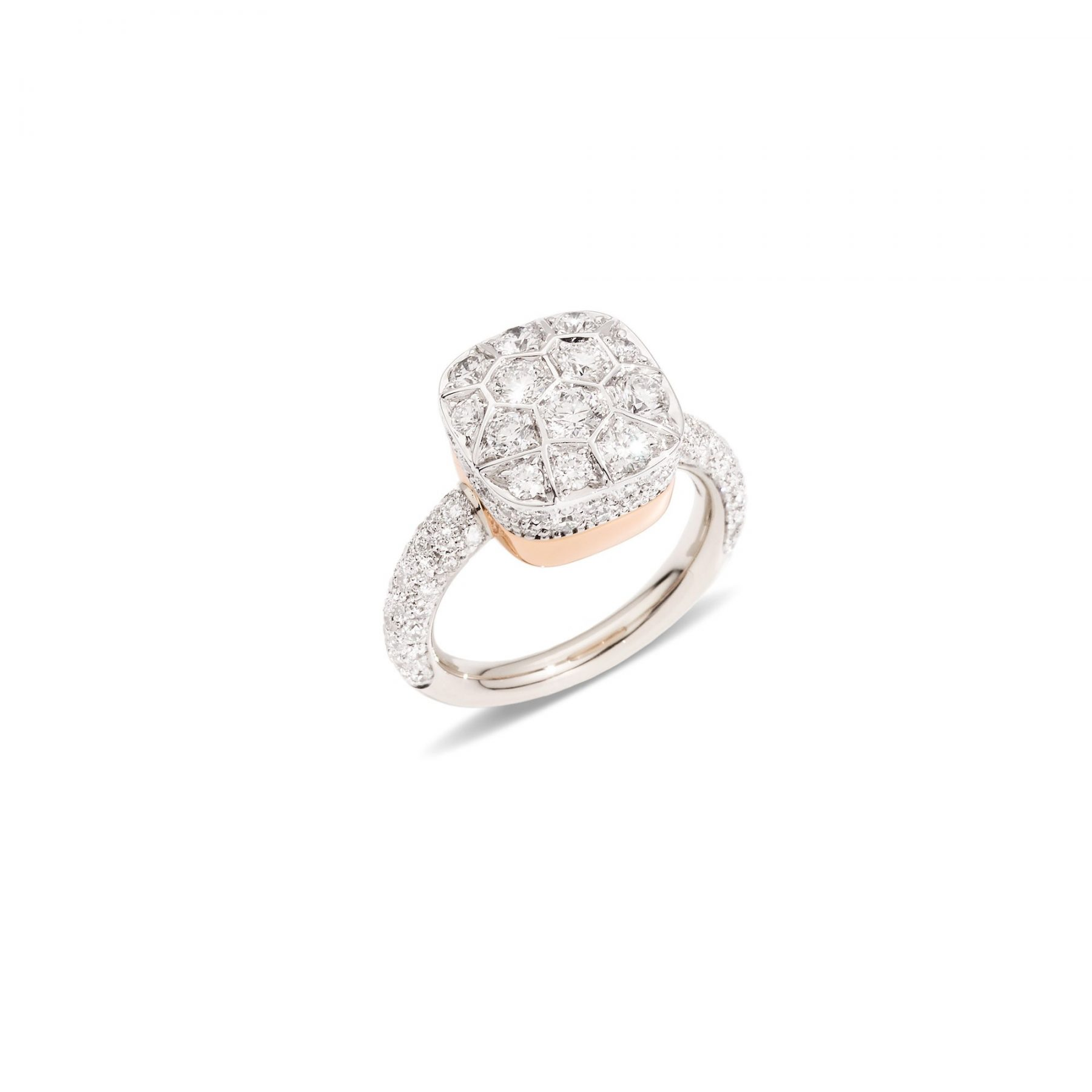 Ring Nudo Solitaire - Pomellato - A.B704GO6/B9