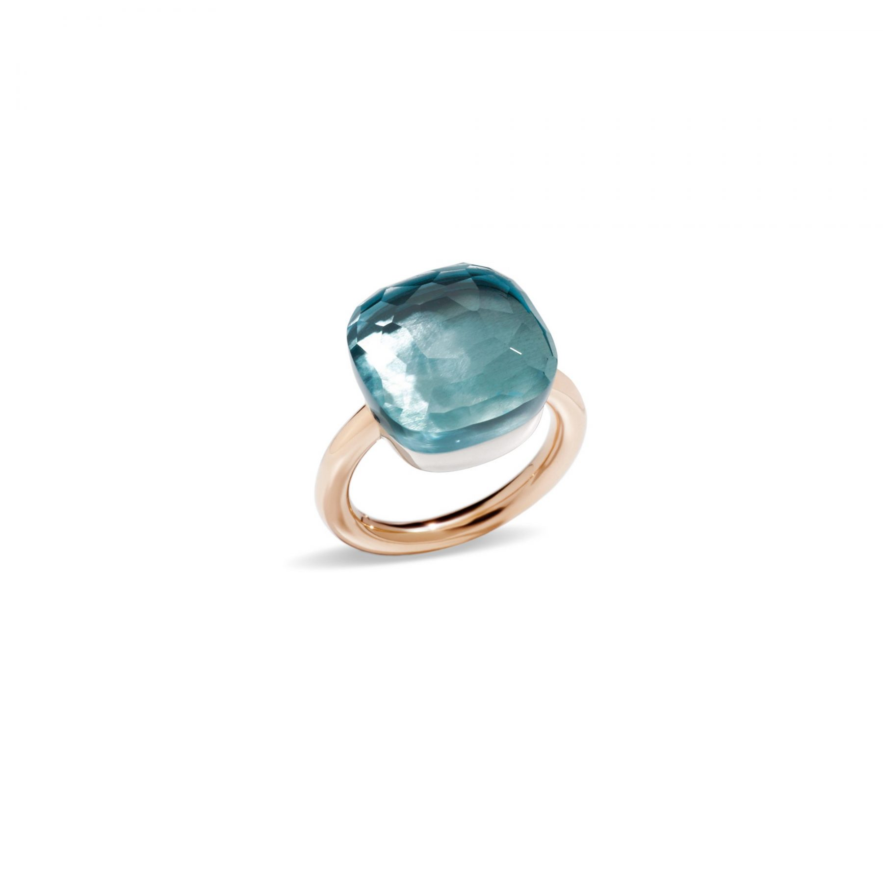 Ring Nudo Assoluto Topas blau - Pomellato - A.B704MO6/OY