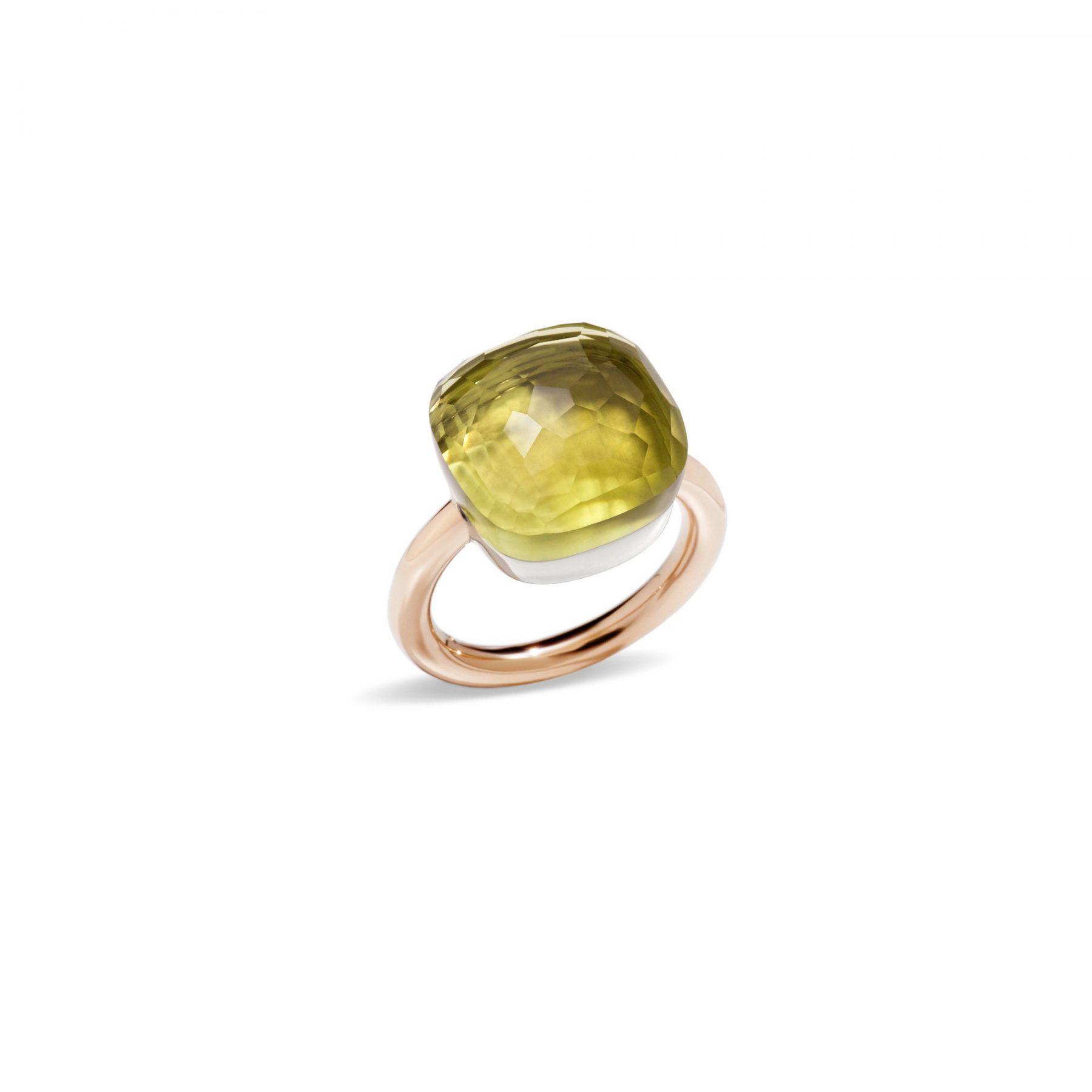 Ring Nudo Assoluto Lemonquarz - Pomellato - A.B704MO6/QL