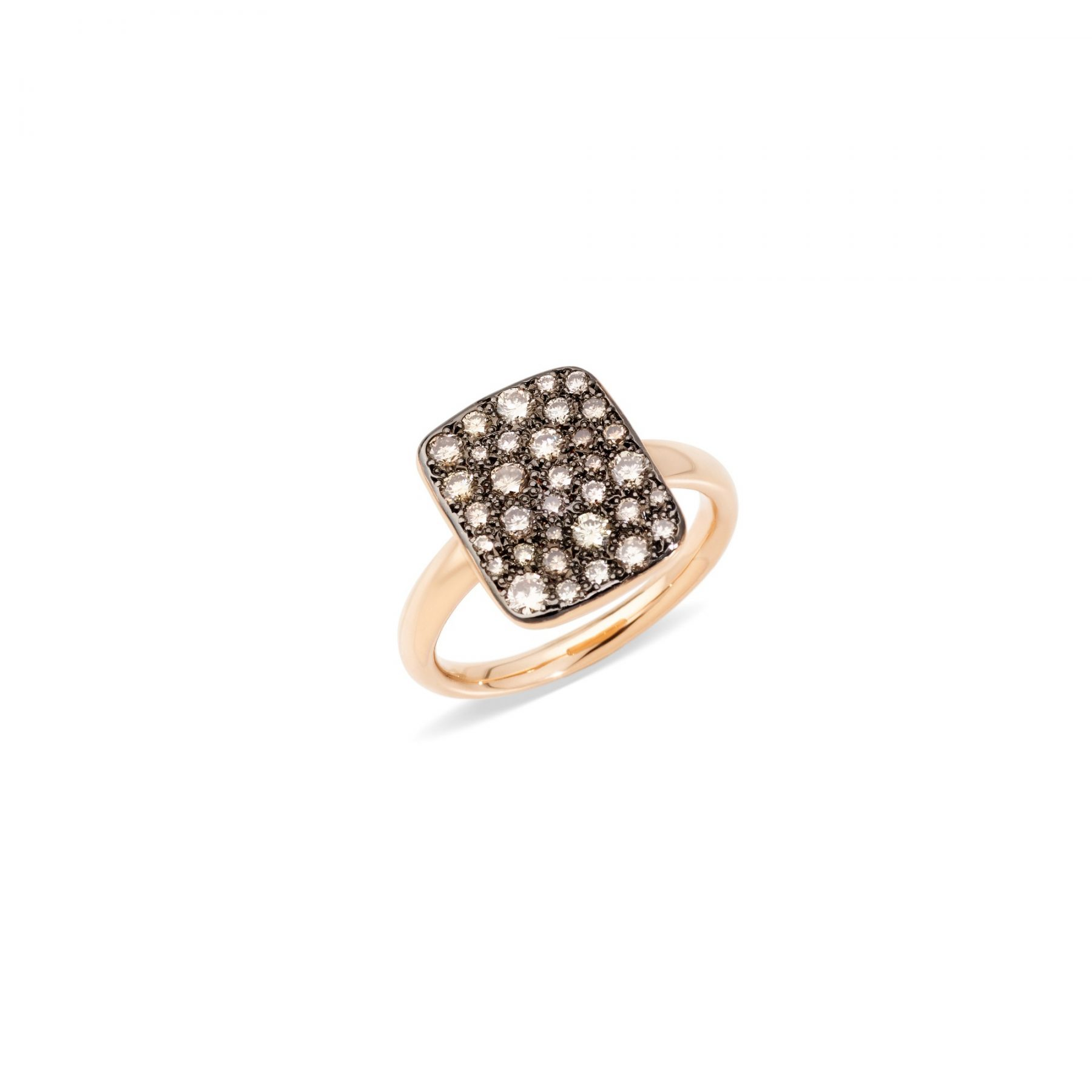 Ring Sabbia braune Diamanten - Pomellato - A.B903MO7/BR