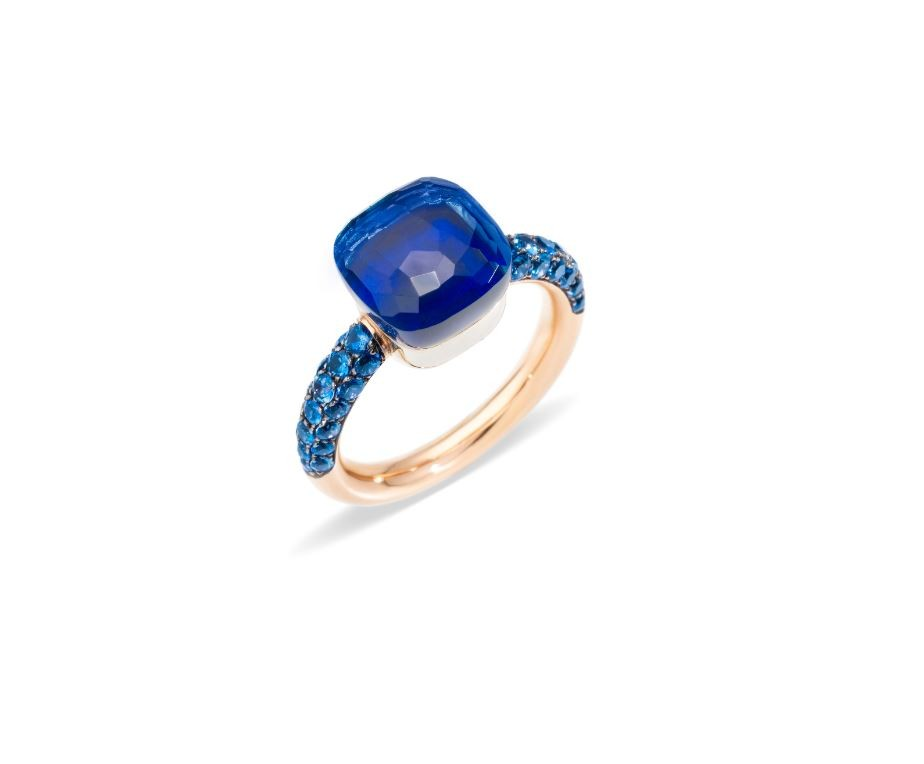 Ring Nudo London Topas Lapis - Pomellato - A.B904O6TLTTK