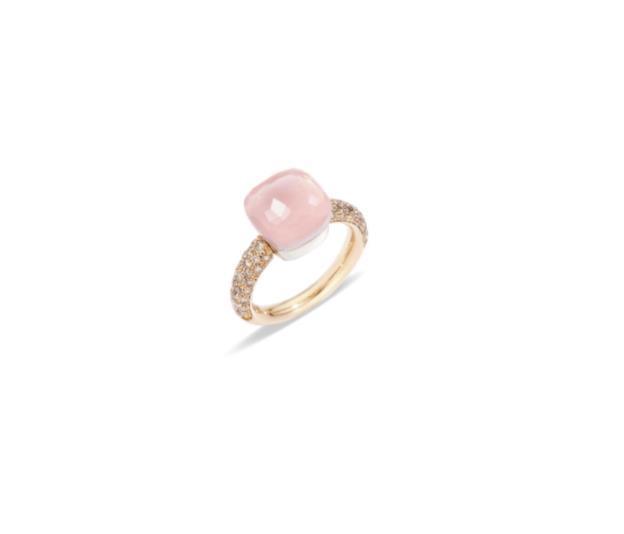 Ring Nudo Classic Rosenquarz - Pomellato - A.C004BRO6/QR