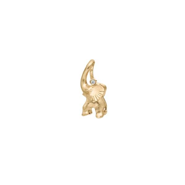 Charm Zirkus Elefant 18ct Gold - Ole Lynggaard - A1383-401