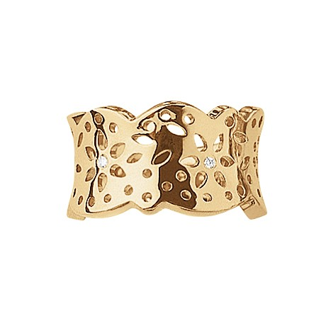 Ring Lace medium 18ct Gold - Ole Lynggaard - A1761-402