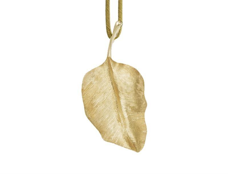 Anhänger rund Leaves - Ole Lynggaard - A2617-402