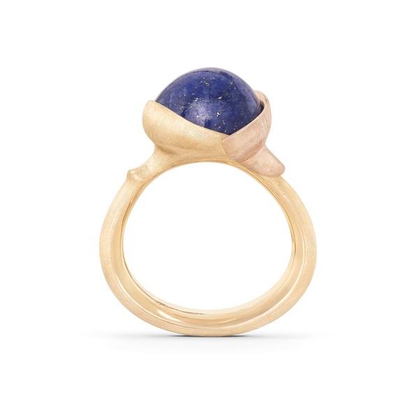 Ring Lotus no.2 Lapislazuli - Ole Lynggaard - A2651-427