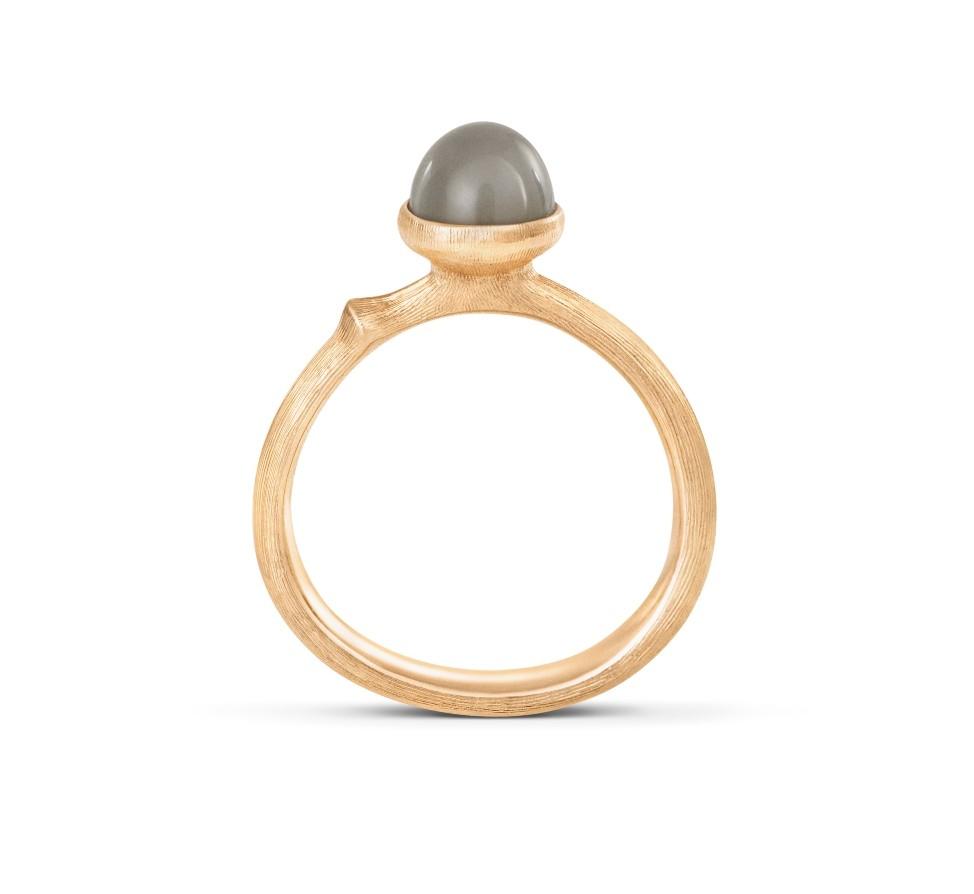 Ring Lotus no.0 Tiny Mondstein - Ole Lynggaard - A2708-403