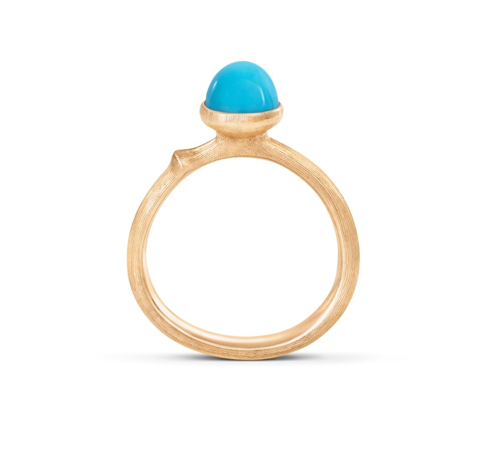 Ring Lotus no.0 Tiny Türkis - Ole Lynggaard - A2708-404