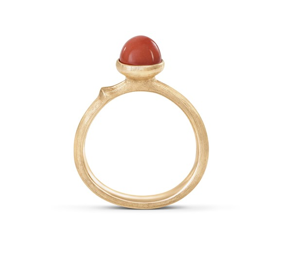 Ring Lotus 0 Tiny 18ct Gold - Ole Lynggaard - A2708-405