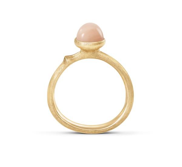 Ring Lotus 0 Mondstein blush - Ole Lynggaard - A2708-406