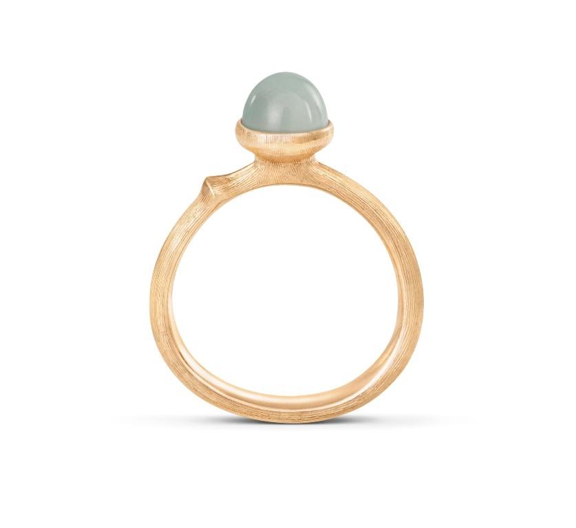 Ring Lotus no.0 Tiny Aquamarin - Ole Lynggaard - A2708-407