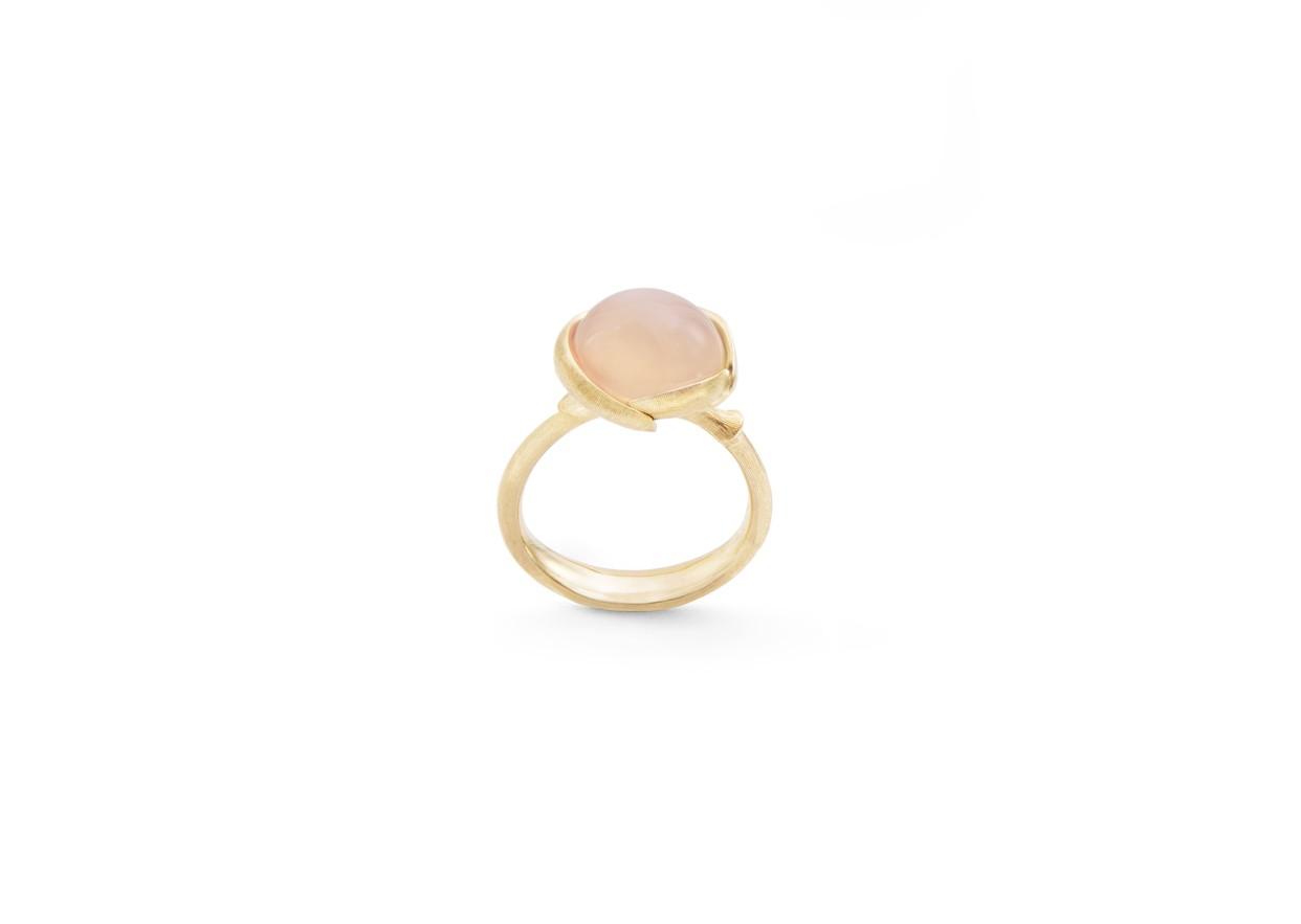 Ring Lotus Mondstein 18ct Roségold - Ole Lynggaard - A2754-402