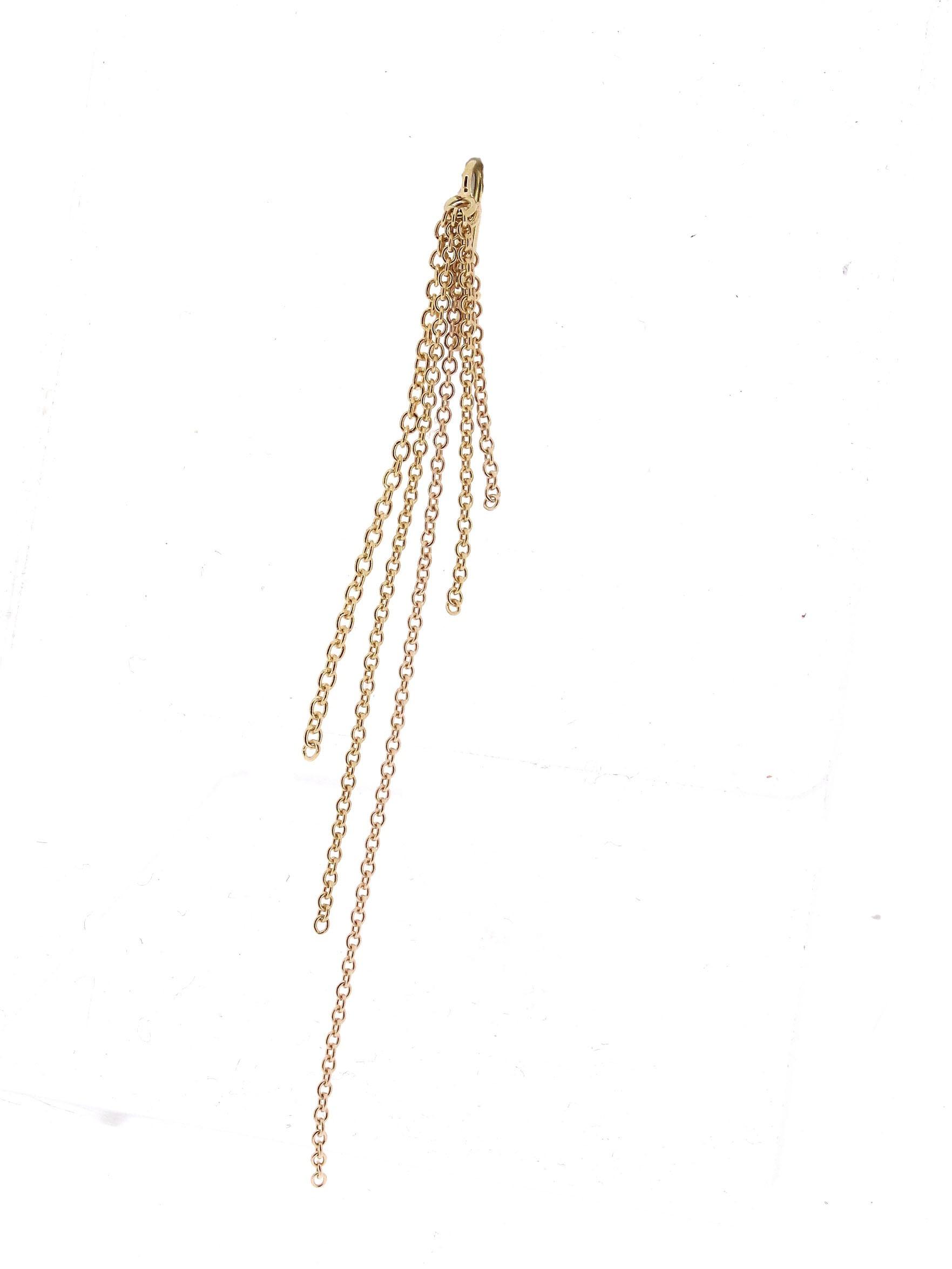 Ohrring Einhänger Kette 18ct - Ole Lynggaard - A2855-401
