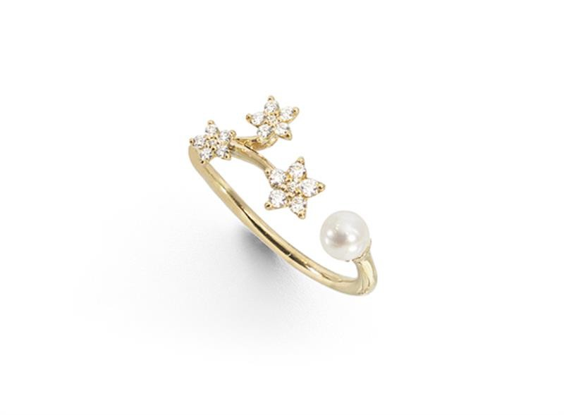 Ring Shooting Stars Gelbgold - Ole Lynggaard - A2864-401