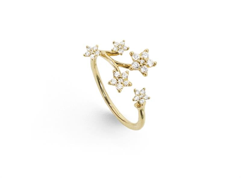 Ring Shooting Star Gelbgold - Ole Lynggaard - A2865-401