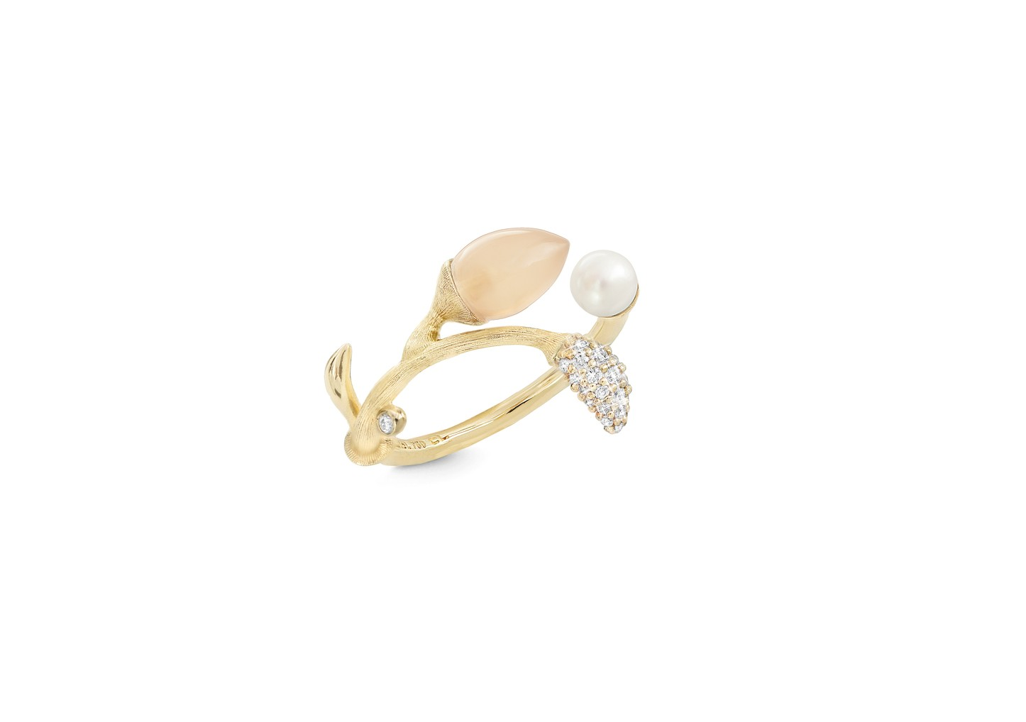 Ring Blooming Blush Mondstein - Ole Lynggaard - A2884-402