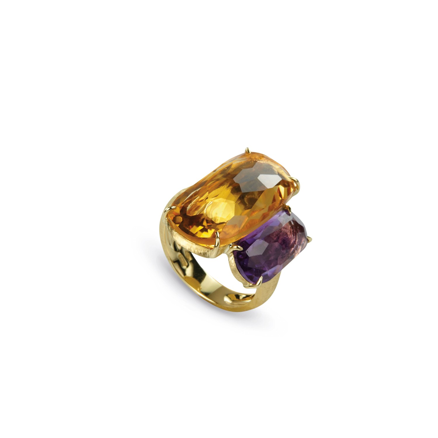 Ring Murano Amethyst Citrin - Marco Bicego - AB507MIX07