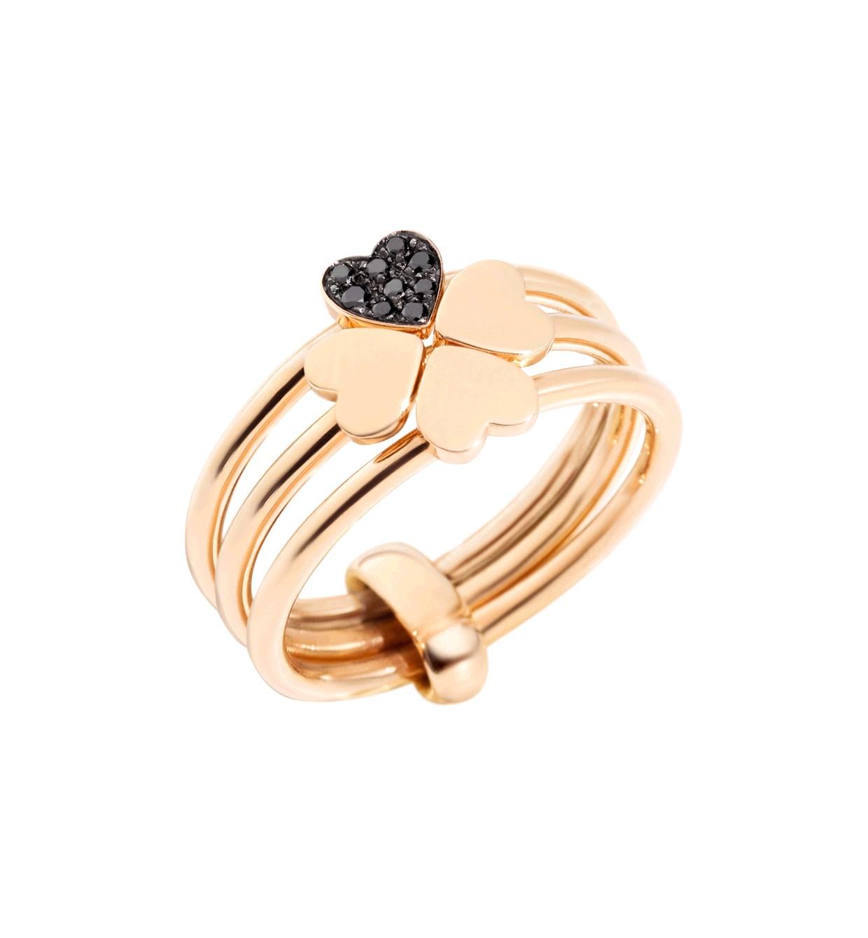 Ring Lucky In Love 9ct Rosé - Dodo - AD12C/9/BB