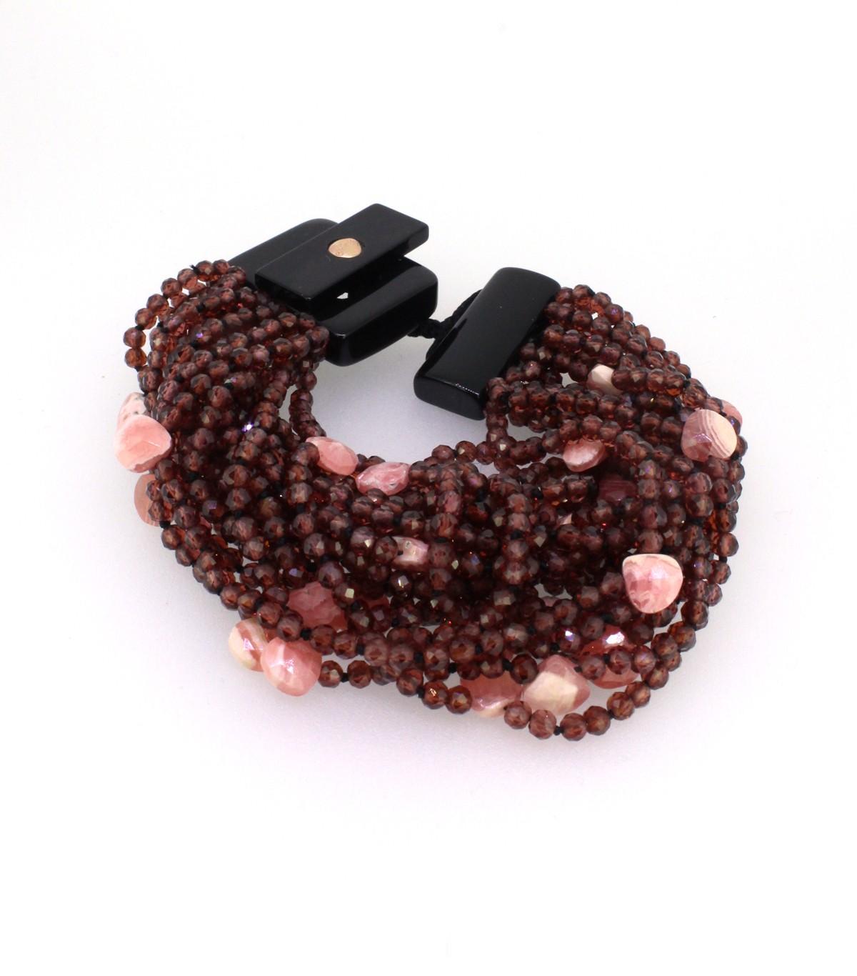 Armband Granat - GalerieVoigt - B-3-099