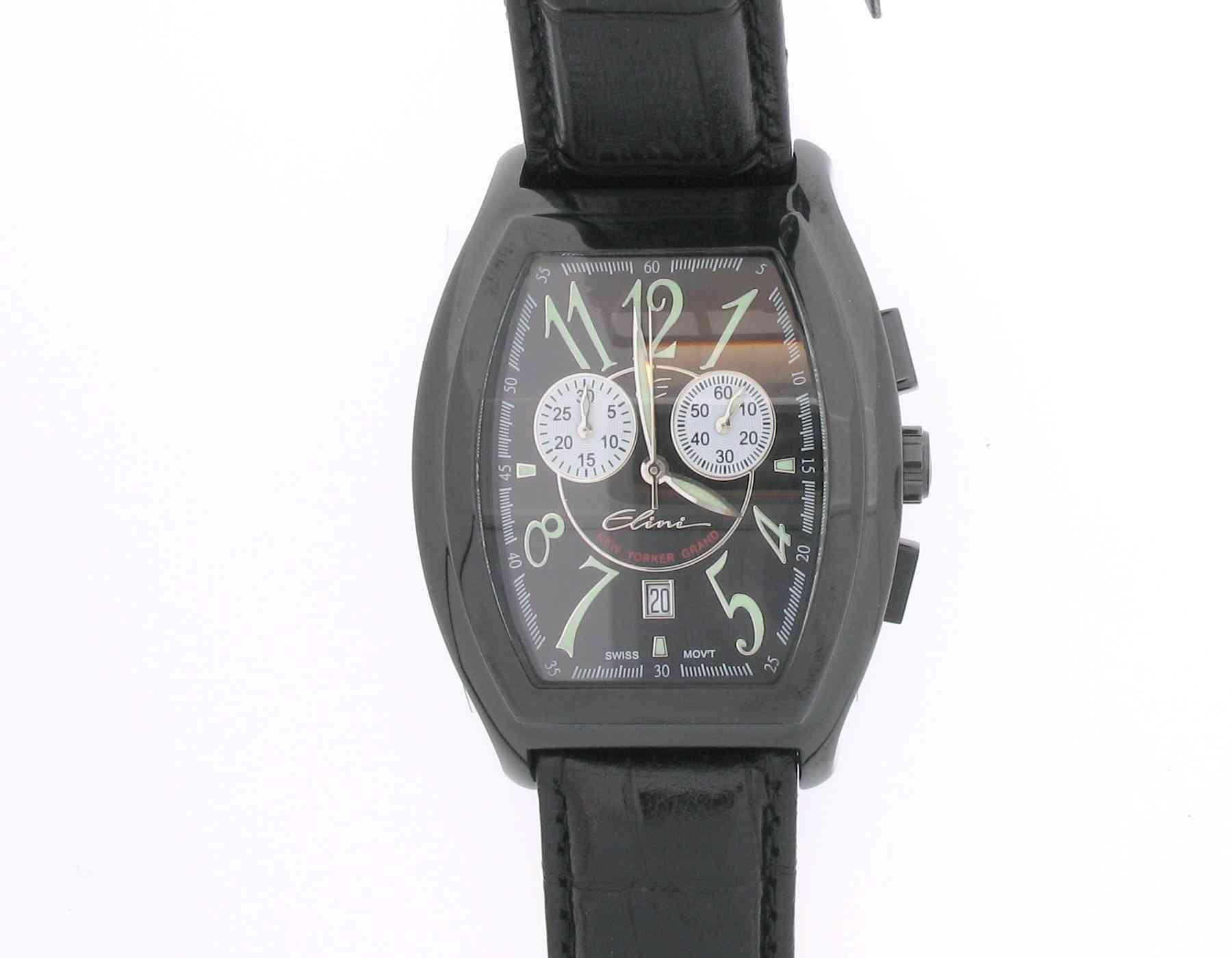 New Yorker Grand Chronograph - Elini - BK125CERBK
