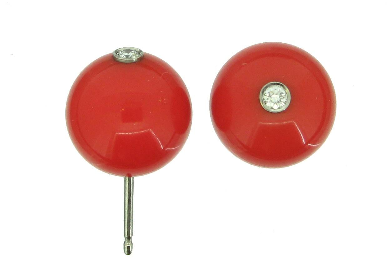 Ohrringe Kunststoff Brillant - tamawa - BO12RG-D