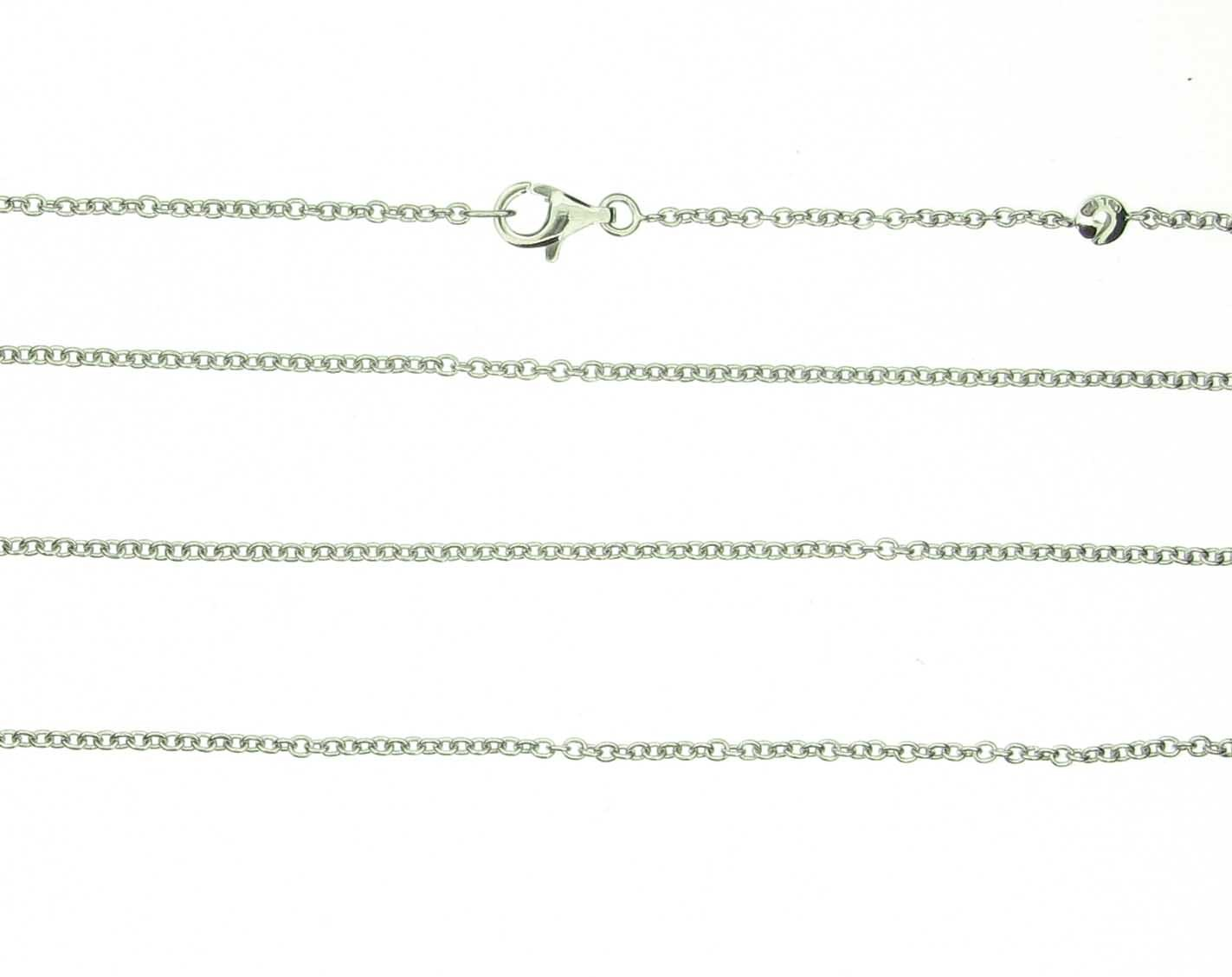 Kette 80cm 18ct Weißgold - Ole Lynggaard - C2017-501