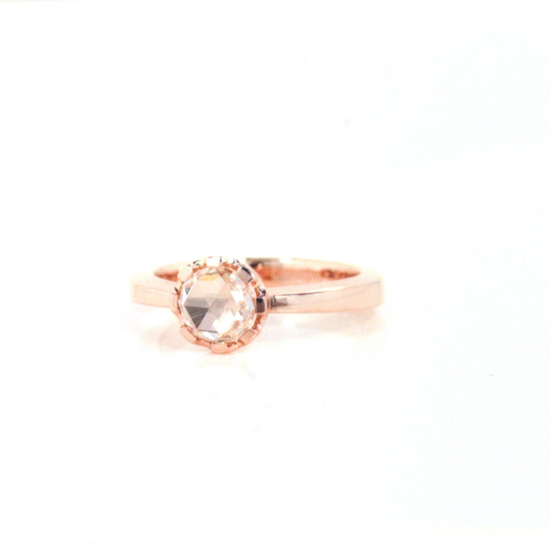 Ring Diamant Rose Roségold - Jochen Pohl - C6-6VIIIR