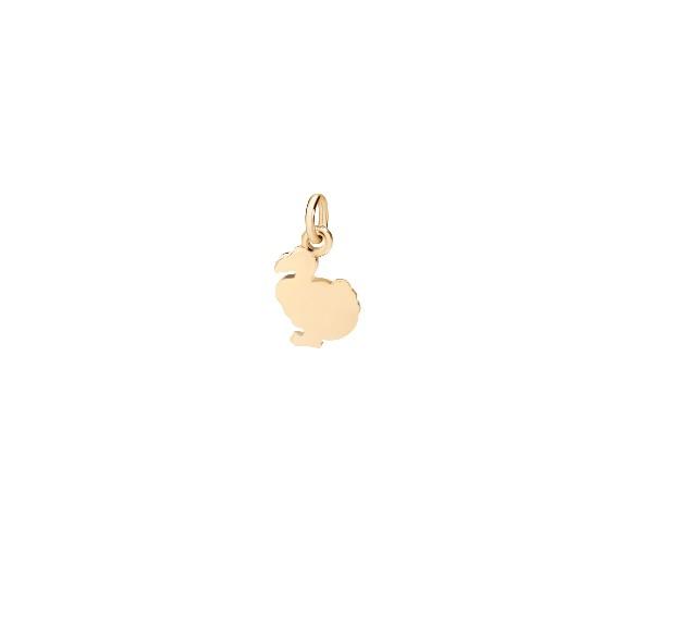 Charm mini Dodo Gold 18ct - Dodo - DMDOPPOG
